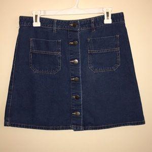 Primark | Button-up Denim Miniskirt